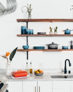 pen shelves have the potential to add a lot of character to your kitchen facelift in Melbourne.